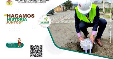 INICIO DE OBRA DE ASFALTADO DE 5 KM DE VÍAS DE ZONA URBANA Y ADOQUINADO DEL BARRIO CANALÓ