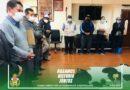 FIRMA DE CONVENIO INTERINSTITUCIONAL ENTRE EL GADMICS Y LA SOCIEDAD OBRERA SANTÍSIMA VIRGEN DEL QUINCHE