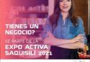 EXPO ACTIVA SAQUISILÍ 2021